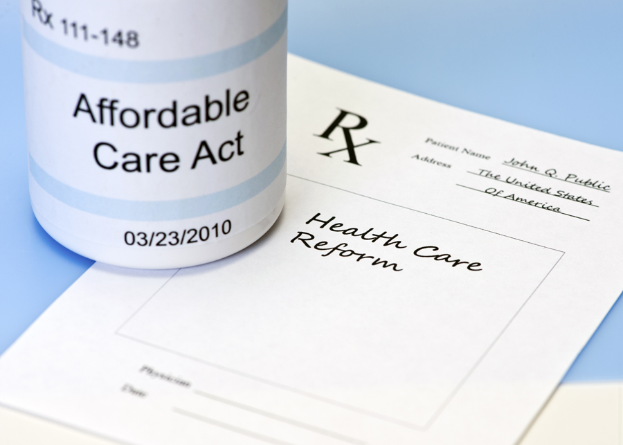 Rx bottle that says Affordable Care Act