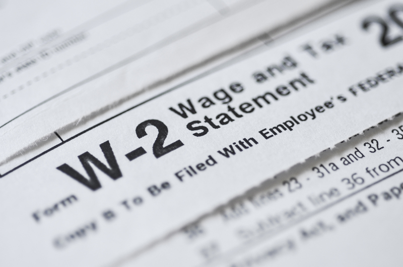 W-2 Wage Statement