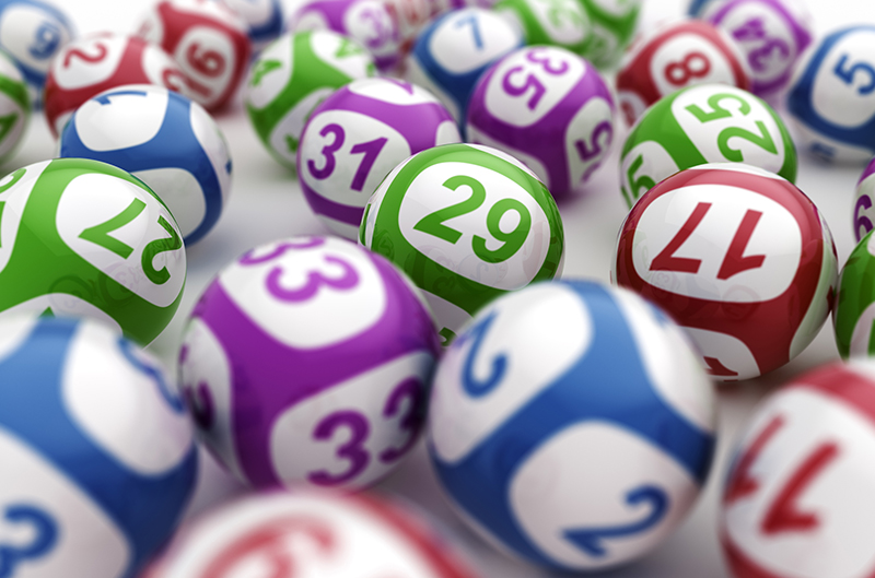 Colorful balls with numbers