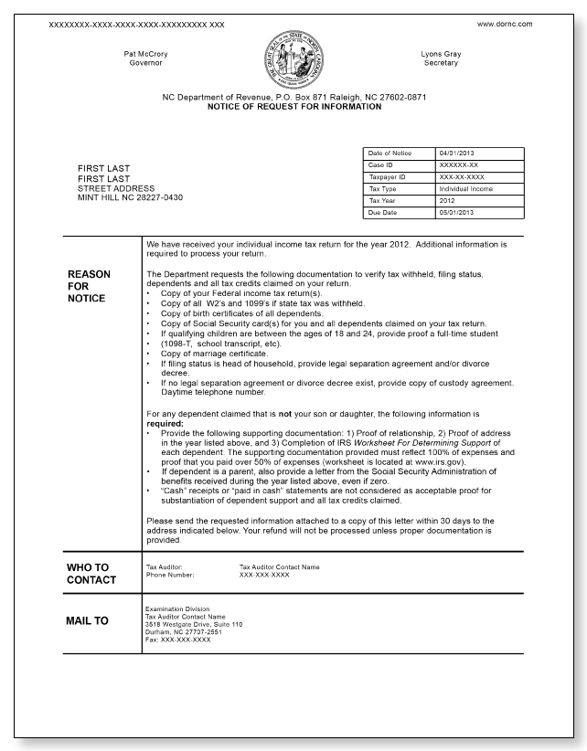 North carolina notice of request for information sample 3 north carolina notice of request for information sample 3 pdf spiritdancerdesigns Images