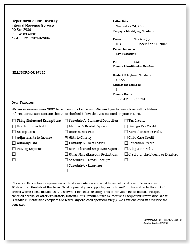 irs audit letter 566 cg   u2013 sample 5