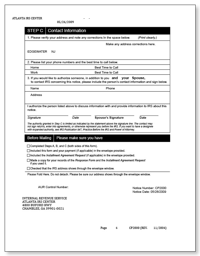 Audit Reconsideration Letter Template