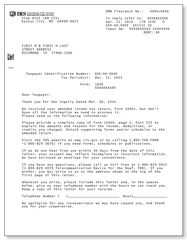 irs audit letter 324c sample 1