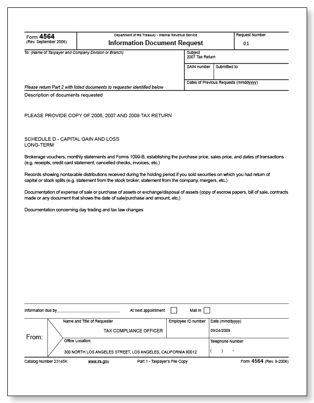 irs audit letter 3572  u2013 sample 5
