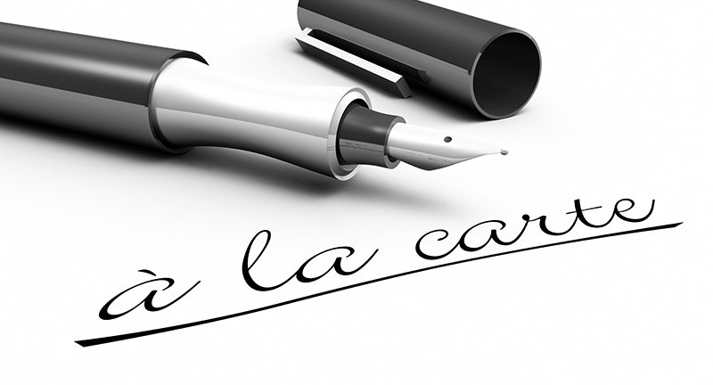 Pen that wrote a la carte